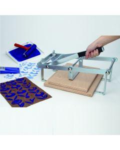 Hand Lever Block Printing Press