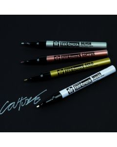 Sakura Slim Pen Touch Metallic Markers