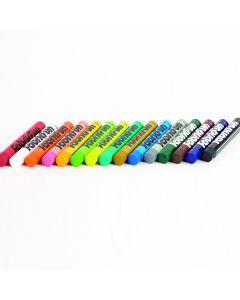 Pentel Fabric Fun Pastel Dye Sticks Assortment