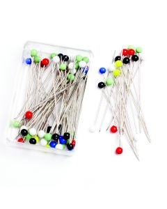 Glass Headed Quilters Pins