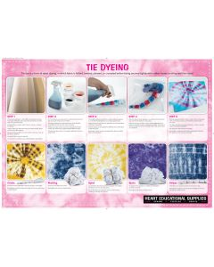 Tie Dyeing Poster