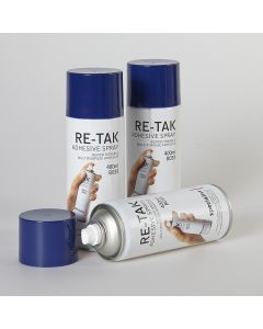 Specialist Crafts Re-Tak Adhesive Spray - 400ml Can