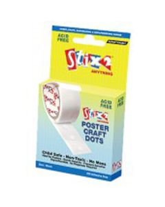 Removable Poster Glue Dots. Pack of 200