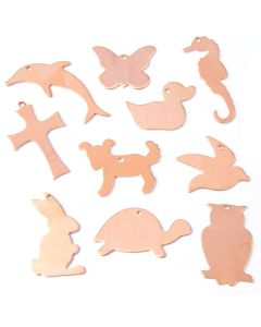 Novelty Copper Shapes