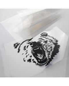 Transparent Stencil Film - Inkjet