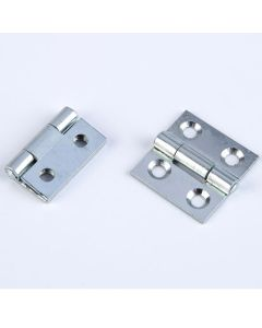 BZP Steel Butt Hinges. Pack of 10 pairs