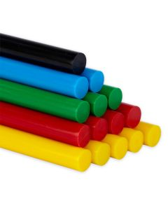 Specialist Crafts 12mm Coloured Glue Gun Sticks. Pack of 50