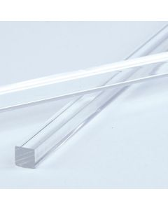 Clear Square Acrylic Rods