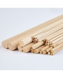 Mixed Hardwood Dowel Class Pack of 50