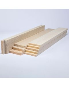 Balsa Wood Class Packs - 75mm Thick Sheets
