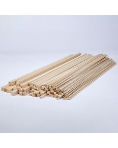 Balsa Wood Class Packs - Square Strips