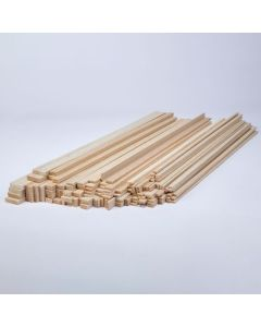 Balsa Wood Class Packs - Rectangular Strips