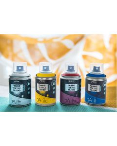 Pebeo Setacolor 7A Fabric Spray Paints - Class Pack