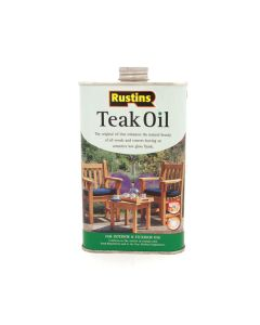Rustins Teak Oil - 1L