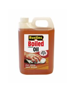 Rustins Boiled Linseed Oil - 4L
