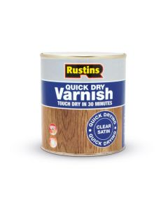Rustins Quick Dry Acrylic Varnish - Satin