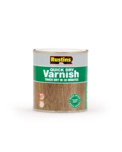 Rustins Quick Dry Acrylic Varnish - Matt