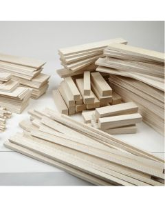 Balsa Strip and Sheet Pack