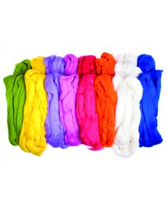 Felting Wool Mixed Pack - Brights